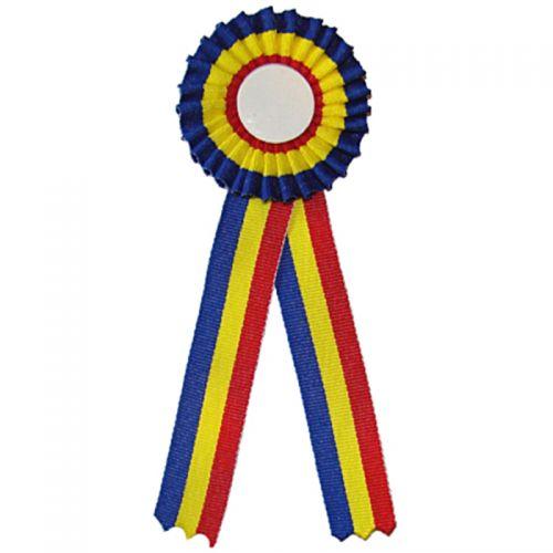 Cocarda Tricolor Romania cu diametru interior de 25 mm