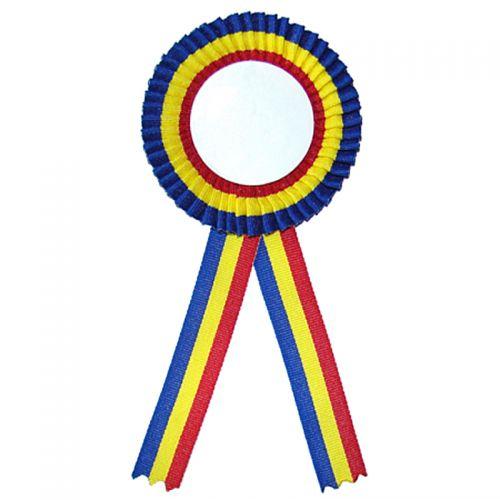Cocarda Tricolor Romania cu diametru interior de 50 mm